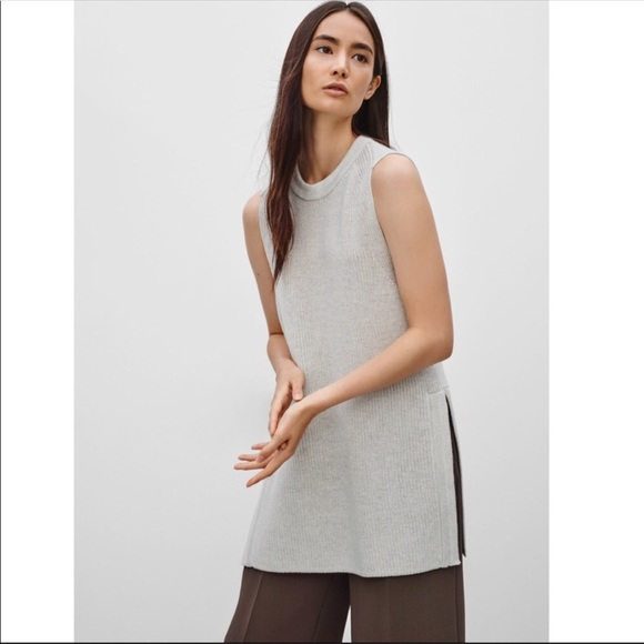 Aritzia | Wilfred Palmier Wool Sweater Sleeveless